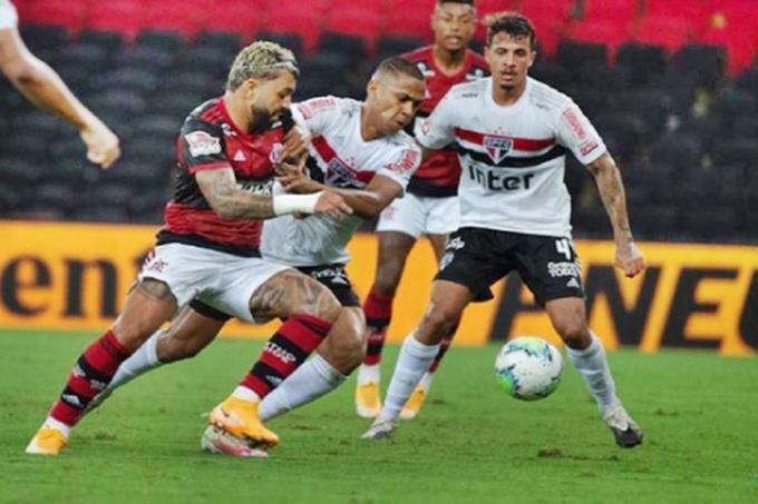 São Paulo e Flamengo ao vivo pelo Brasileirão